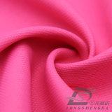 agua de 75D 210t y de la ropa de deportes tela tejida chaqueta al aire libre Viento-Resistente 100% de la pongis del poliester del telar jacquar de la tela escocesa del triángulo abajo (E104)