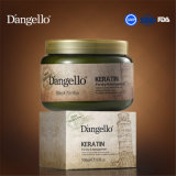 La mejor máscara del pelo del cuidado de pelo de la renovación de la queratina de D'angello 500ml, OEM