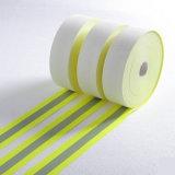 Band van de Waarschuwing van de Sticker van de Polyester van 100% de Hete Weerspiegelende