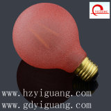 Rotes Frosted G80 E27 3.5W LED Light Bulb