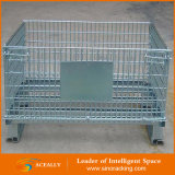 Faltbares Rigid Bottles Wire Container Storage Wire Mesh Pallet Box für Cargo Storage