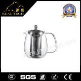 Стеклянный чайник с сеткой фильтра