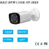 1megapixel 720p Water-Proof a câmara de segurança de Hdcvi IR {Hac-Hfw1100r-Vf-Ire6}
