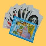 Impresión educativa de encargo a estrenar de las tarjetas de las tarjetas que juegan