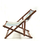 2016 Silla plegable de madera maciza Nuevo en verano, Silla plegable de playa