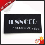 Фабрика Wholesale Custom Polyester Damask Woven Labels для Clothing