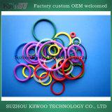 De gevormde Kleurrijke RubberO-ring van de Zegelring