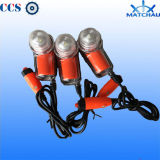 바다 Flash Frequency Lifejacket 및 Life Vest Lithium Battery Light