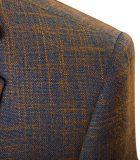 맞춤옷 판매를 위한 캐시미어 천 모직 남자의 한 벌 남자의 한 벌을 측정하기 위하여
