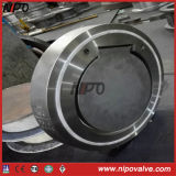 De gesmede Klep van de Controle van de Schommeling van de Plaat van het Type van Wafeltje van het Roestvrij staal Enige