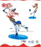 Soem Sexy Plastic Figure Toy mit Long Hair (CB-PF001-Y)
