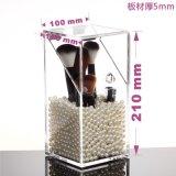 Fabricante de acrílico plástico claro de China de los organizadores del sostenedor de cepillo