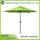 Parasole esterno dell'ombrello del mercato del parasole del giardino d'acciaio del Palo