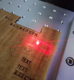 [ك2] جلد [جن] ليفة ليزر تأشير آلة لأنّ خشب
