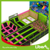 Подгонянный план свободно конструирует оптовый крытый парк Trampoline гимнастики
