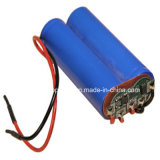 7.4V Digital Meter Lithium Battery mit SANYO 18650