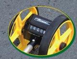 Rueda de medición del contador de la rueda de la distancia mecánica telescópica de las ruedas duales
