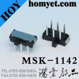 Переключатель скольжения DIP высокого качества/микро- переключатель плунжера (MSK-1142-G4)