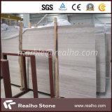 La losa de madera blanca más barata del mármol de la vena para el uso de interior