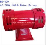 Сирена электрического двигателя Ms-490 150dB AC110V 230V Doule