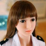 Het mooie Japanse Geslacht van de Stewardess van de Lucht Dame Sex Doll (158cm)
