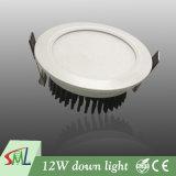非12W高い内腔のDownlightの明滅の高い光合成の効率