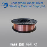 Aws A5.18 Er70s-3のコア釘のための銅の溶接ワイヤ