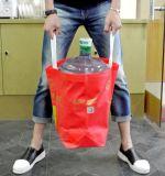 Bolsa de papel usada que hace la máquina