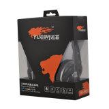 Écouteur confortable de PC de prix usine avec la MIC