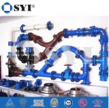 Fonte ductile mécanique pipe mixte d'assemblage