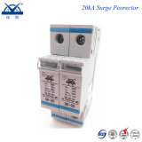 DIN Rail 2p Single Phase AC 220V Power Lightning Arrestor