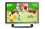 22 affichage à cristaux liquides de 16:9 de large écran de C.C 12V Television à C.A. de Shape de pouce DEL TV avec Tempered Glass