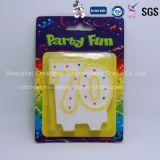 China Producción profesional Precio de Fábrica Partido Número de Decoración para pasteles