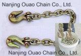 Chaîne de lien standard d'acier allié de G30/43/70/80 Nacm90&1990&1984& \ &96&ASTM1980 Etats-Unis avec des crochets