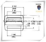 Boucles en métal d'accessoires de harnais de sûreté (K219C)