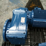 Serien der China-Fertigung-F nähen Drehzahl-Reduzierer-Maschinen-schraubenartiges Getriebe übersetzten Motor