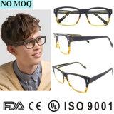 Eyeglasses популярных шарниров Полн-Оправы рамок оптически стекел конструктора гибких деревянные