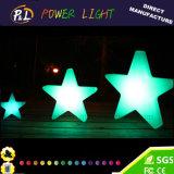 LED 램프를 바꾸는 장식적인 빛을내는 크리스마스 별 색깔