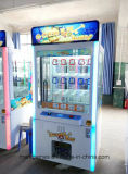Il tasto gioca dorato del distributore automatico mini con l'indicatore luminoso del LED