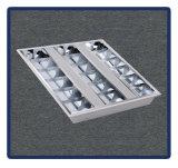 A luz de painel Recessed a lâmpada montada 1*40W/T8/1200*600 da grade