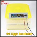 Il pollame automatico di tasso di covata di Hhd 98% Egg l'incubatrice da vendere