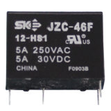 релеий силы PCB 5A (JZC-46F-12HS1)