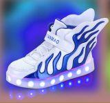 Самый последний проблесковый свет студента обувает холодные ботинки СИД (FF824-1)