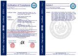 PVC 절연제 재킷 세륨에 의하여 증명서를 주는 철사 및 케이블