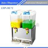 真新しいComercialジュースの飲み物ディスペンサーLsp-18L*2