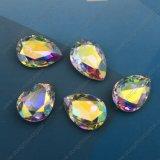 Granos flojos de la gota de lujo cristalina para los accesorios de la joyería