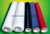 Película de estiramento do PE da classe/envoltório manuais transparentes da pálete