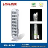 24 lumières Emergency rechargeables de PCS 5050 SMD LED