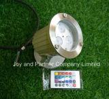 RF Controller (JP-83033-RF)를 가진 3W RGB LED 정원 Lights