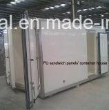 """Panneaux """"sandwich"""" de panneaux """"sandwich"""" de polyuréthane d'unité centrale de matériau de construction de la Chine pour la Chambre préfabriquée"""
